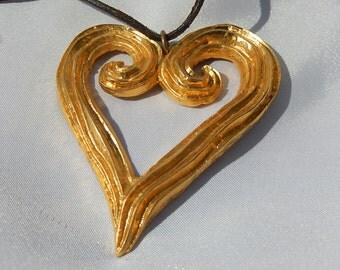 Large Heart Pendant by Edouard Rimbaud