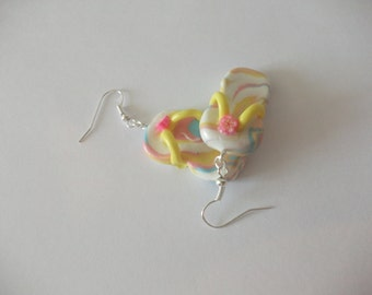 Flip-flops earrings