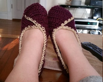 Crochet Womens Slippers