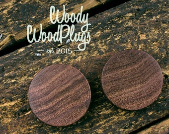 Brazil nut wood plugs - wooden ear plugs - natural plugs - organic plugs/ 0g plugs/ 00 g plugs 10 mm 12 mm 14 mm 16 mm 18 mm 20 mm 22 mm