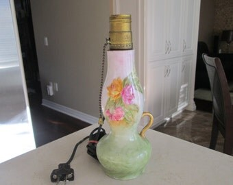 Hand painted Lamp Base