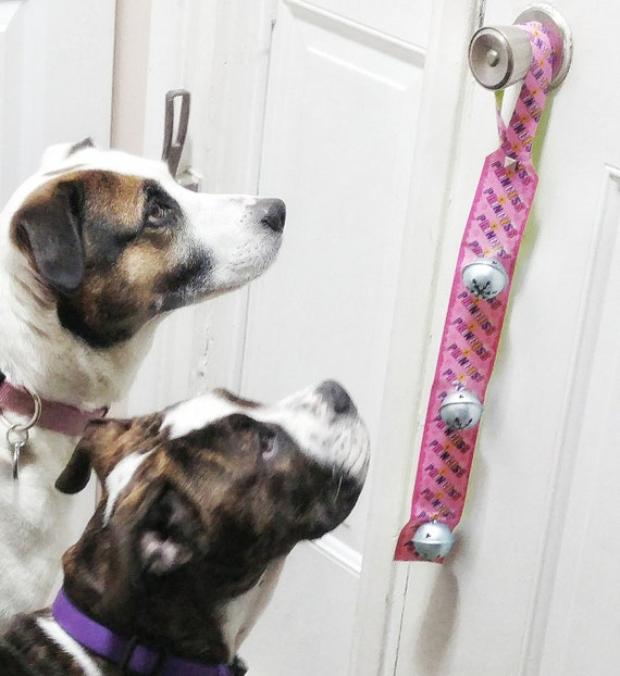 Pink Princess Dog Doorbell Dog Accessories Hanging Puppy