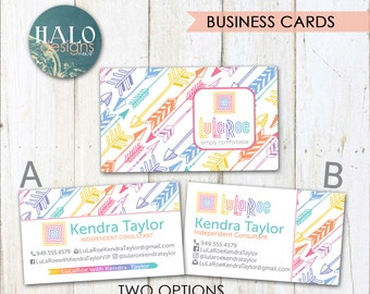 Unique lularoe business cards related items etsy for Lularoe business card ideas