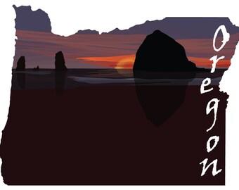 Oregon: Cannon Beach