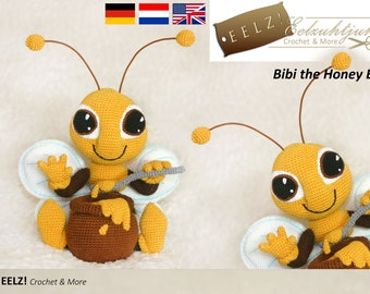 Bibi the Honey Bee - Crochet Pattern