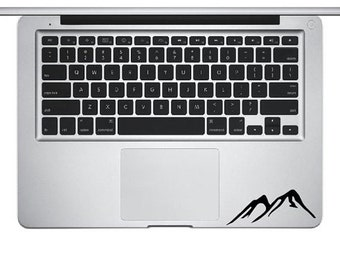 Mountain Decal, Hill Decal, Mountain Sticker, Laptop Sticker, Laptop Decal, MacBook Decal, iPhone decal, Ipad Decal