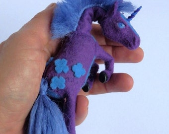 Unicorn, purple unicorn, turquoise unicorn,unicorn puppet, toys