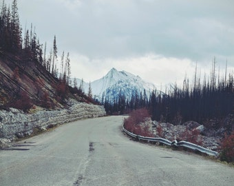 Road Digital Photo - Road Photo - Mountain Road - Mountain Landscape - Road Trip - Mood - Digital Photo - Digital Download - Home Decor