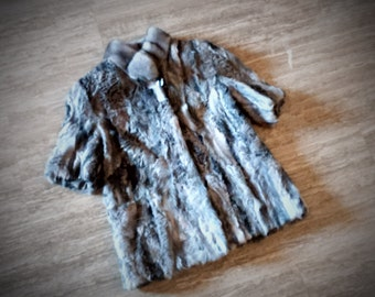Fur jacket/ Real fur/ Karakul Swakara fur