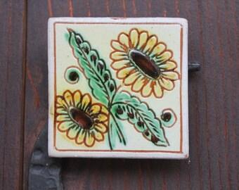 Clay magnet for fridge
