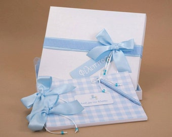 Christening guest book personalized wedding gifts