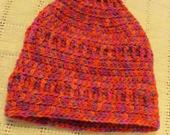 Ladies Slouch Beanie, Crochet