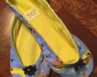 Ballet style slippers