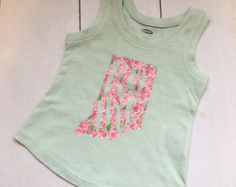 Lilly Inspired - Indiana Home Tank Top - 12-18 Months