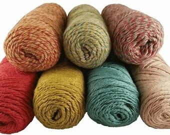 Suri Alpaca Silk Yarn