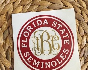 Florida State Seminoles Vinyl Decal