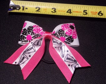 Mixed Pattern Hairbow