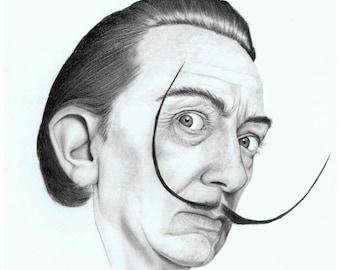 Salvador Dali- Illustration print