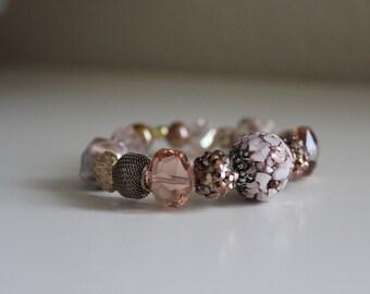 Polished Pink Bracelet