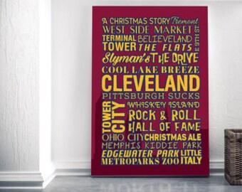 Cleveland, Ohio Canvas!