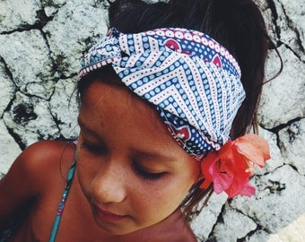 Tribal Blue Headress