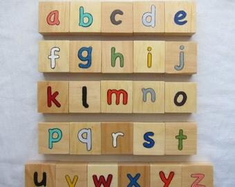 ABC Wooden Blocks w/ custom name