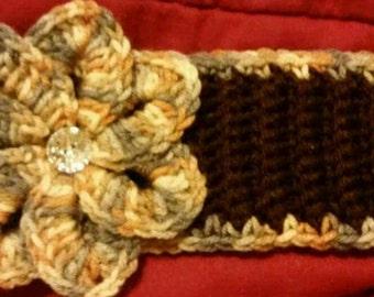 Toddler Crochet Ear Warmer Headband