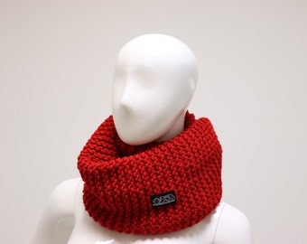 Granny Style red scarf
