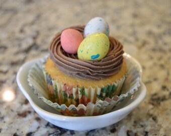 1 Dozen Bird's Nest Cupcakes