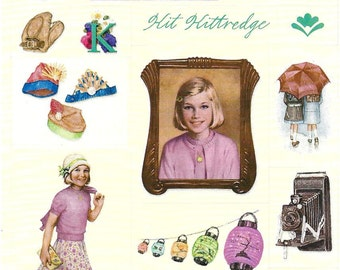 KIT HALLMARK STICKERS / Retired 2001 / American Girl /. Pictures From First Books