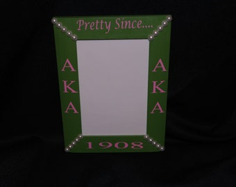 Alpha Kappa Alpha Pretty Since Picture Frame
