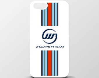 Williams Martini F1 Glossy White Back Cover Case for iPhone 6 Plus