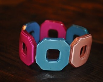 Multicolor, Square Bracelet