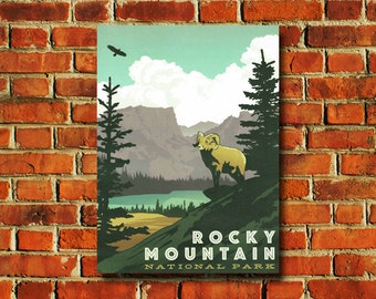 Rocky Mountain National Park Poster - #0768