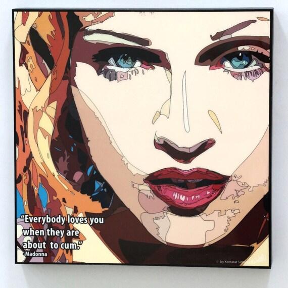 Madonna Inspirational Quotes: Madonna Wall Art Decals Quotes Inspirational Motivational