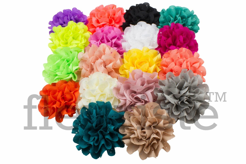 GRAB BAG 3 Eyelet Flower Rose Wholesale Flower Fabric