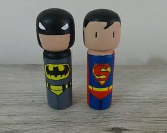 Batman Vs Superman pegdoll