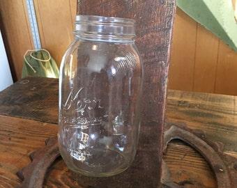 Mason Jar, Reclaimed Wood Wall Display