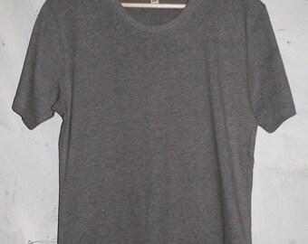 Grey Daze - plain grey organic cotton t-shirt