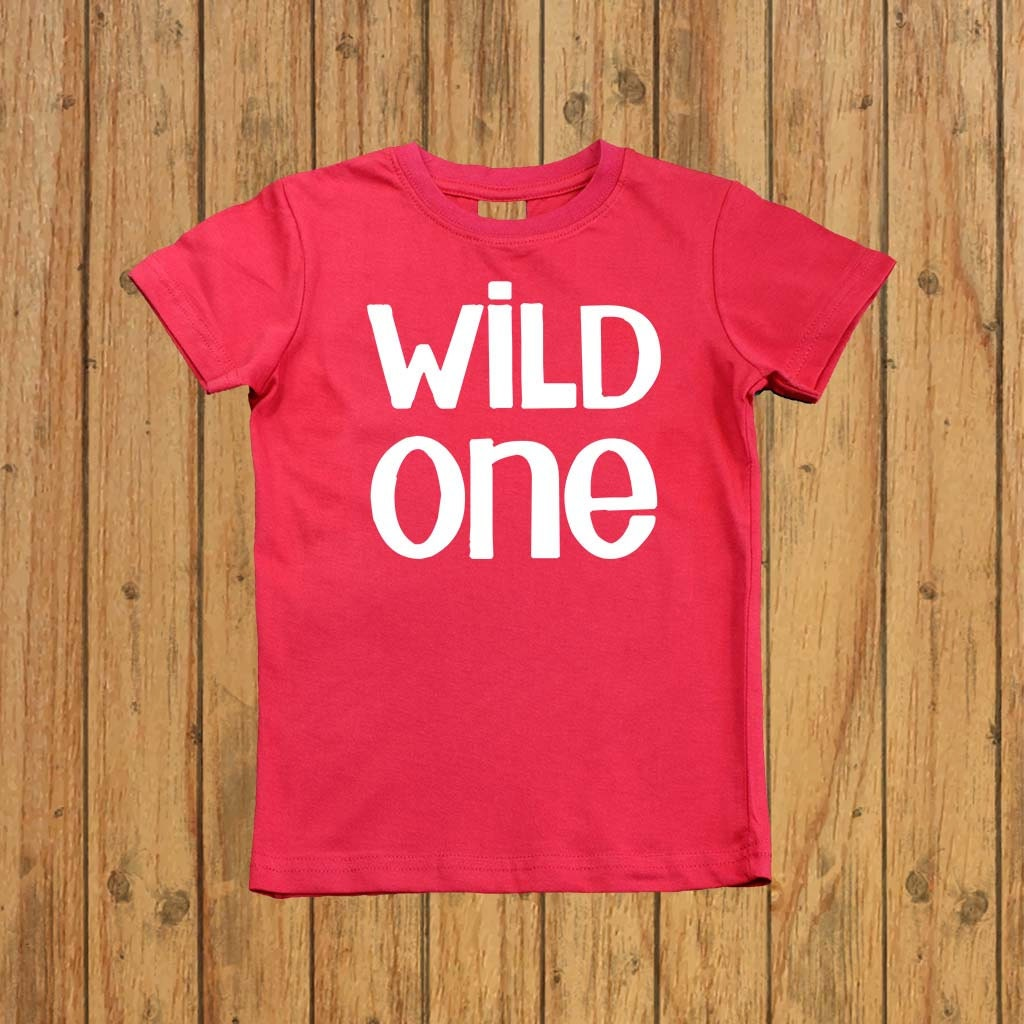 Wild one boys shirt First Birthday Shirt boys by ...