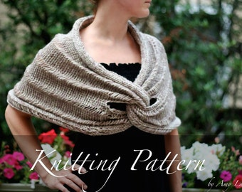 Spirit Hood Knitting Pattern : Knitting Pattern: The Tephra Hood Bulky by ...