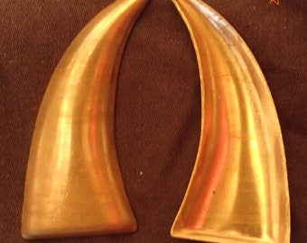 Copper Claw or Horn  Hollow Core  10 to a bag  CCH1