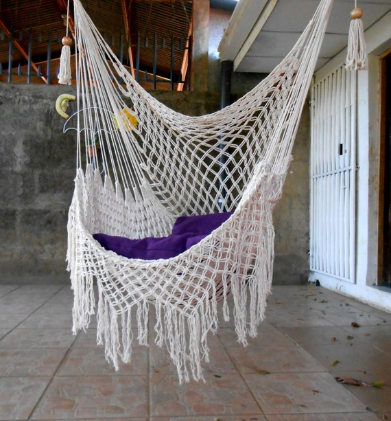 Swing chair Macrame special by HangandSwing on Etsy