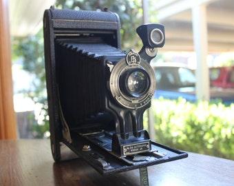 Vintage 1915 Eastman Kodak Autographic Jr. Camera w/ Original Case