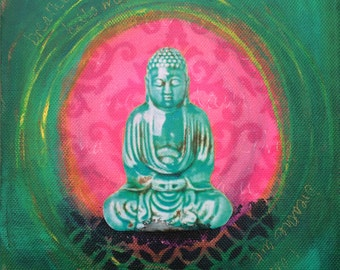 Buddha Small Canvas