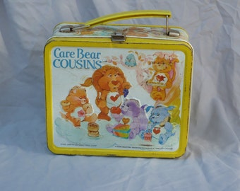 Vintage Care Bears lunchbox