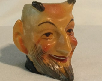 Antique Ceramic Miniature Devil Toby