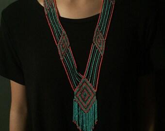 Necklace huichol long