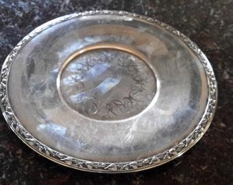 Vintage Silverplate Tray