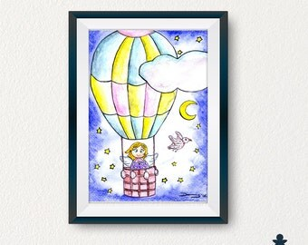 Air Balloon Angel